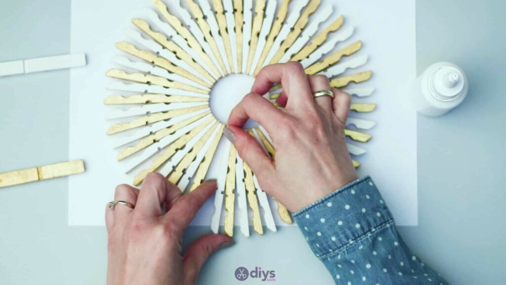 Diy clothespin art step 5m
