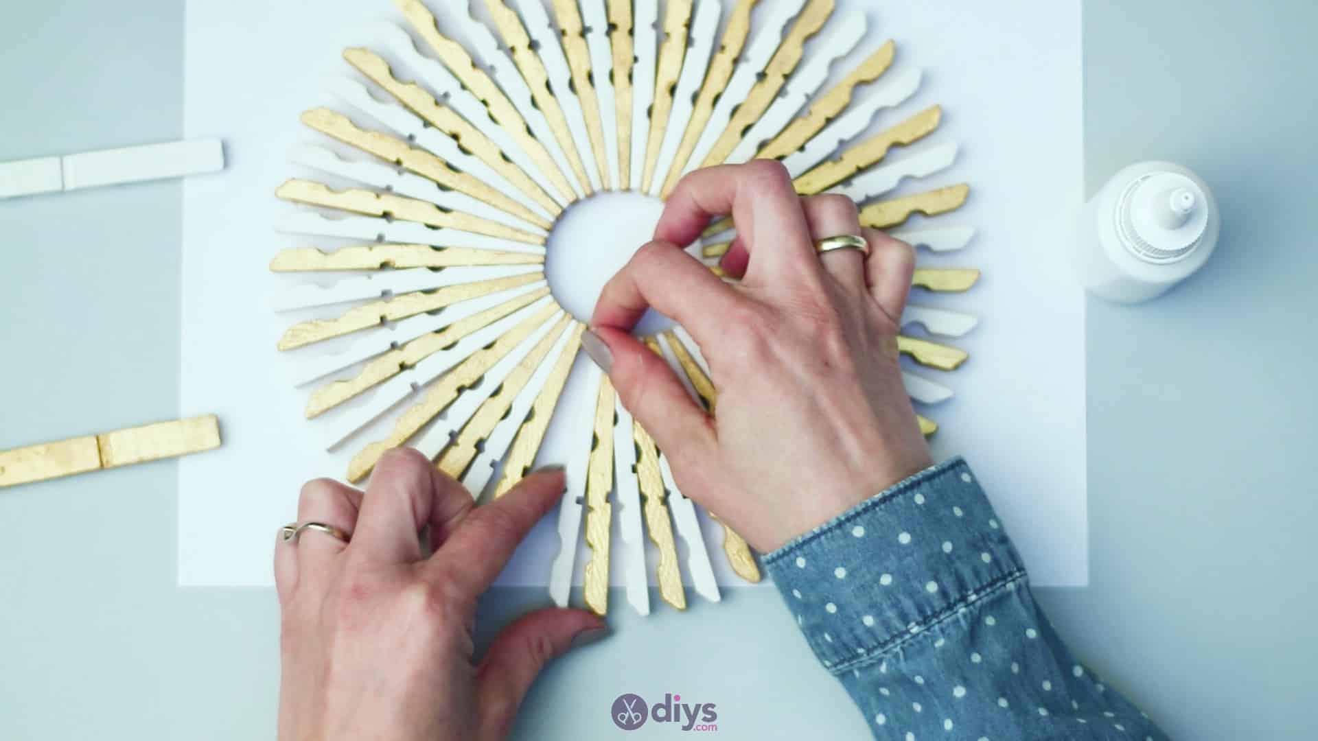 Diy clothespin art step 5m
