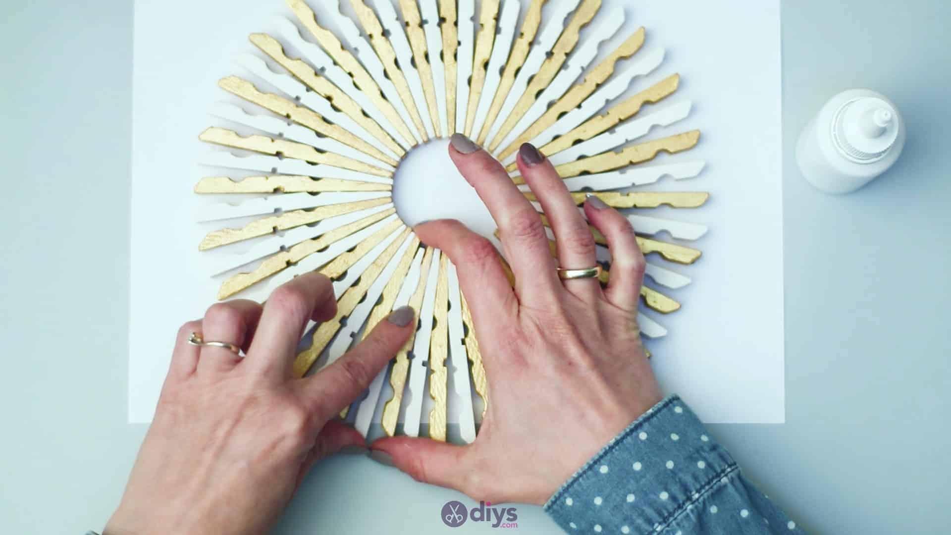 Diy clothespin art step 5n