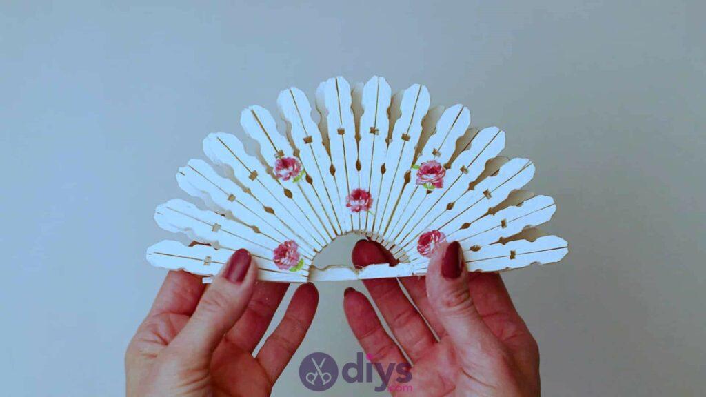 Diy clothespin napkin holder step 11c
