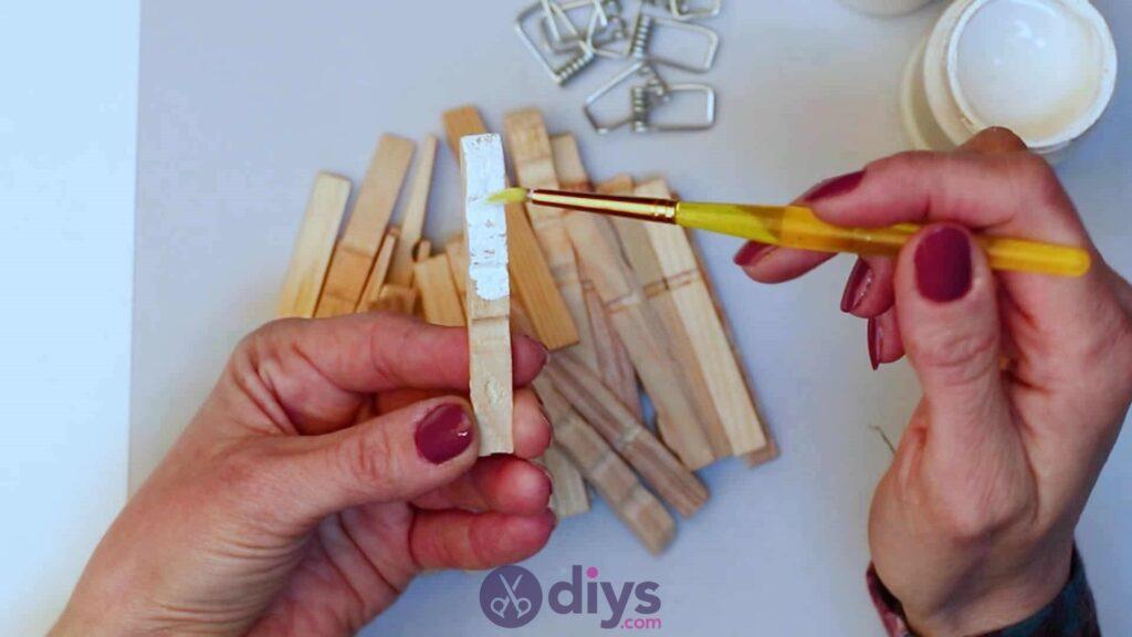 Diy clothespin napkin holder step 3b