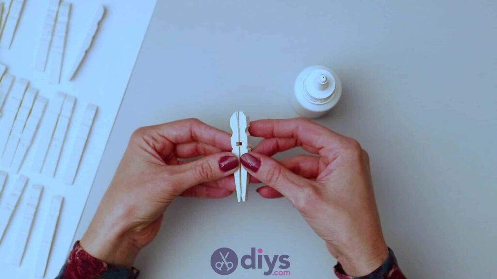 Diy clothespin napkin holder step 4a