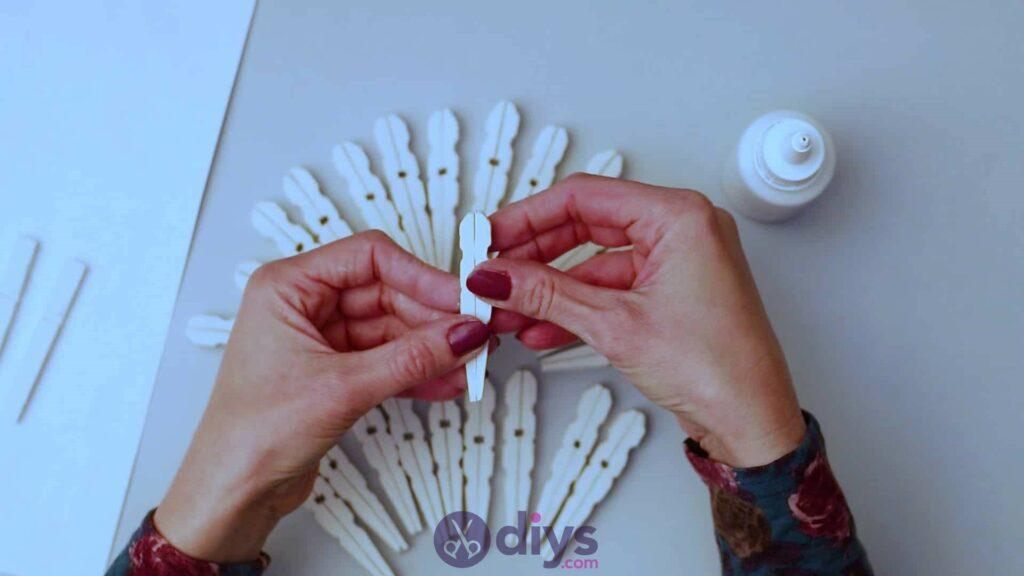 Diy clothespin napkin holder step 4f
