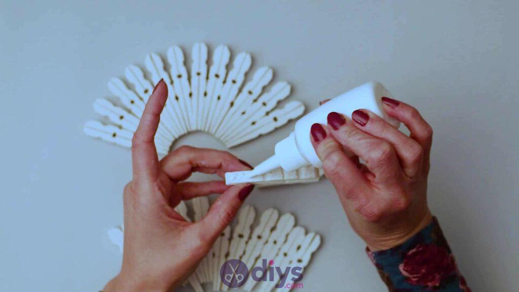 Diy clothespin napkin holder step 5c