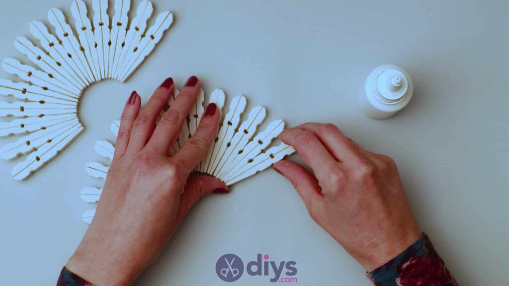 Diy clothespin napkin holder step 6c