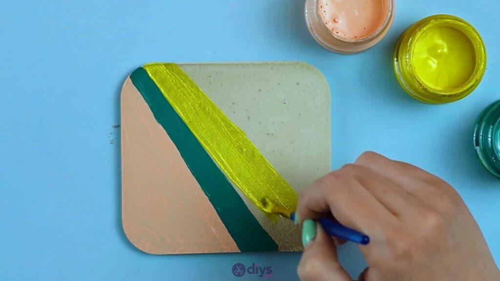 Diy colorful concrete coasters 5k