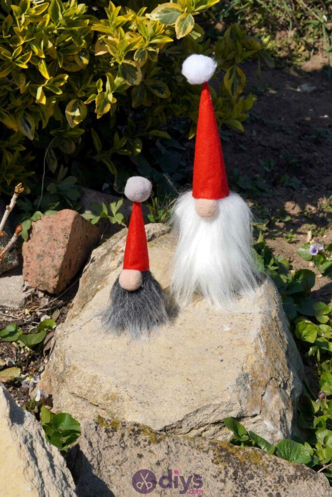 Diy concrete garden gnomes