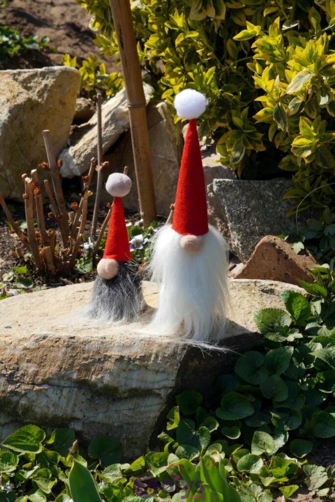 Diy concrete garden gnomes christmas vive