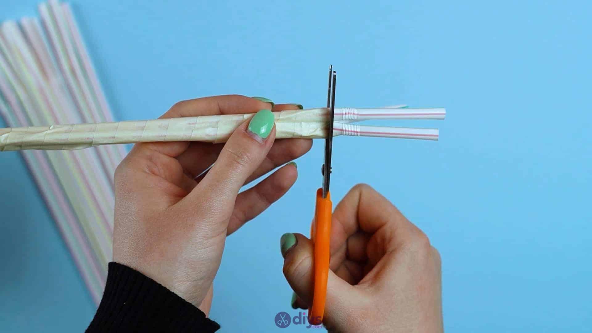 Diy concrete pencil holder step 2g