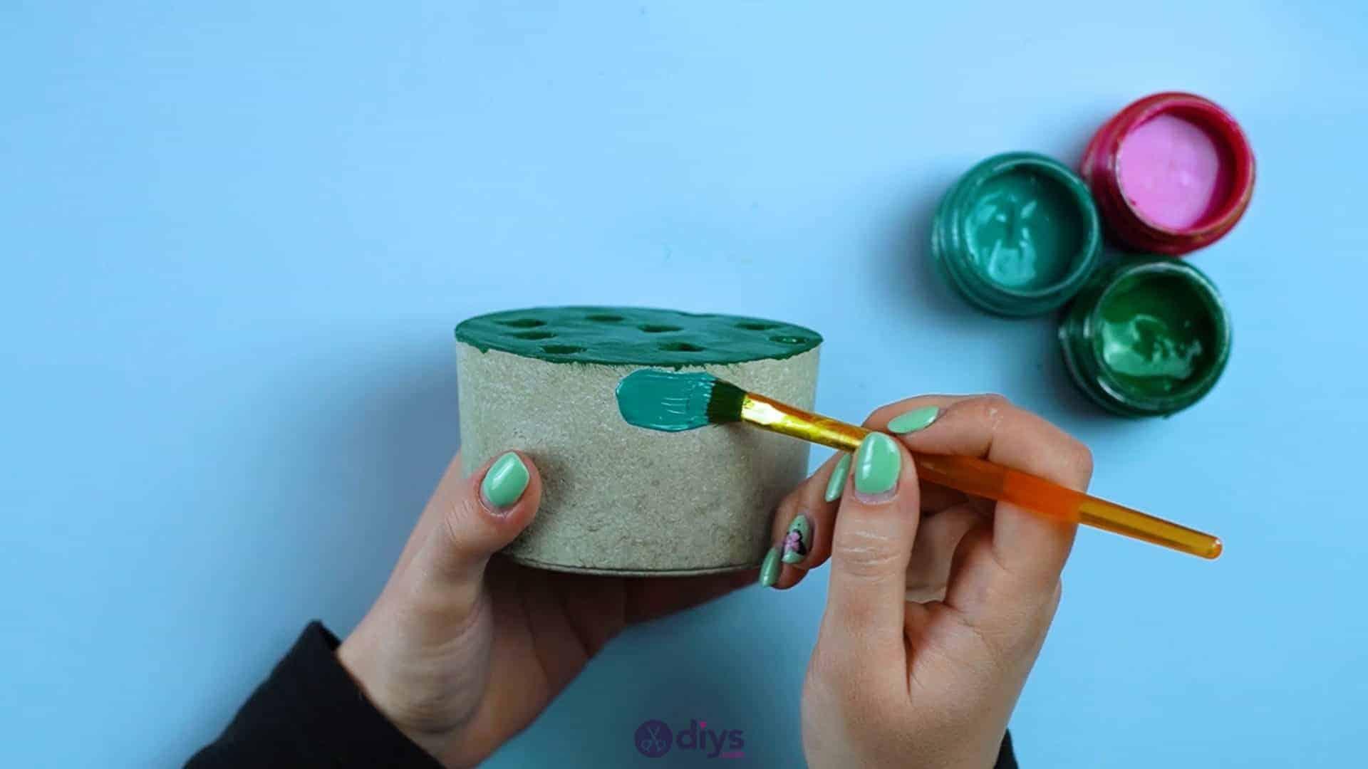 Diy concrete pencil holder step 6i