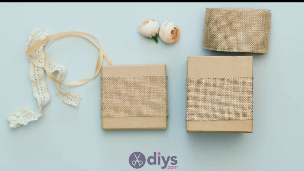 Diy jute gift box step 3f