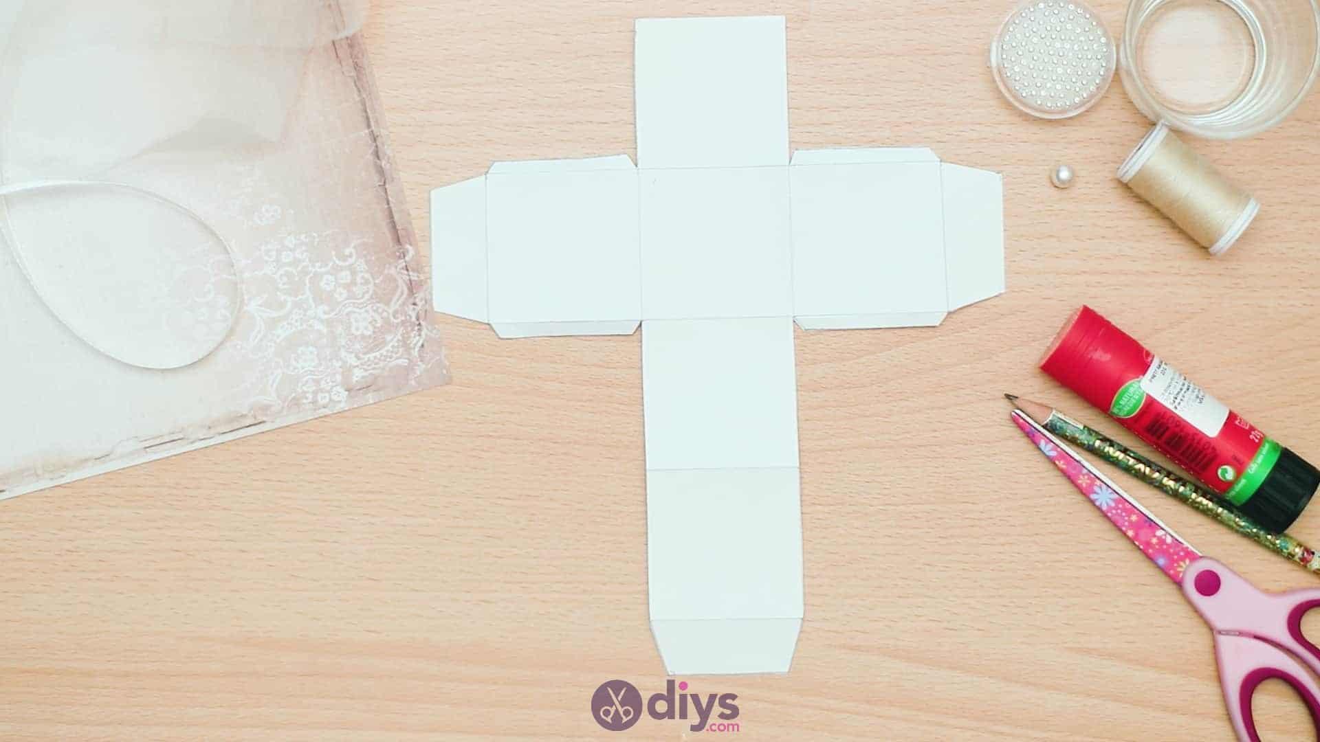 Diy mini wedding gift box step 2