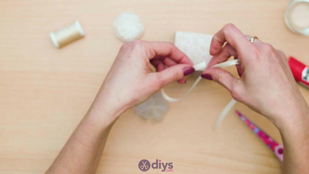 Diy mini wedding gift box step 9