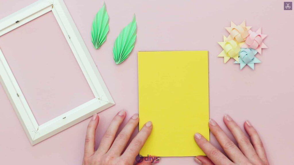Diy origami flower art step 12b