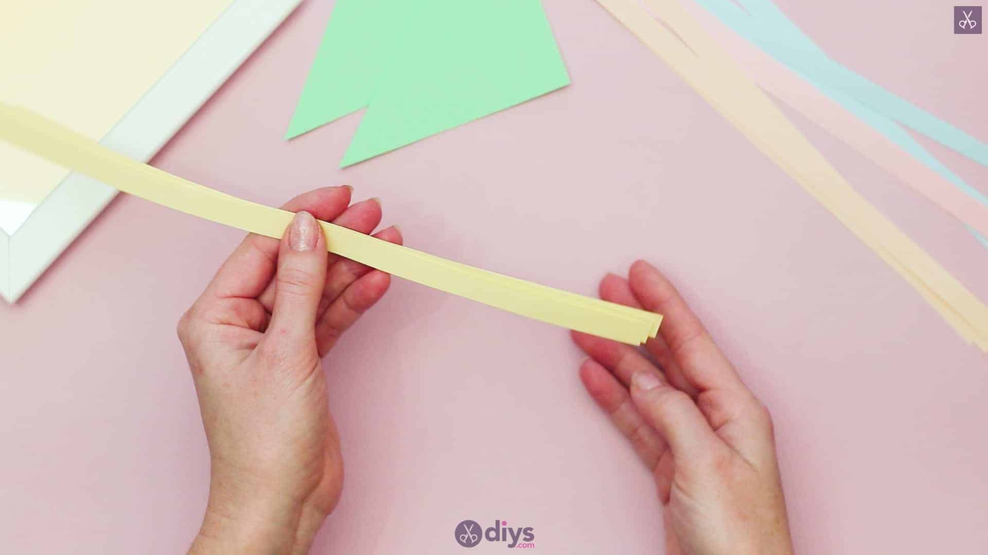 Diy origami flower art step 2a