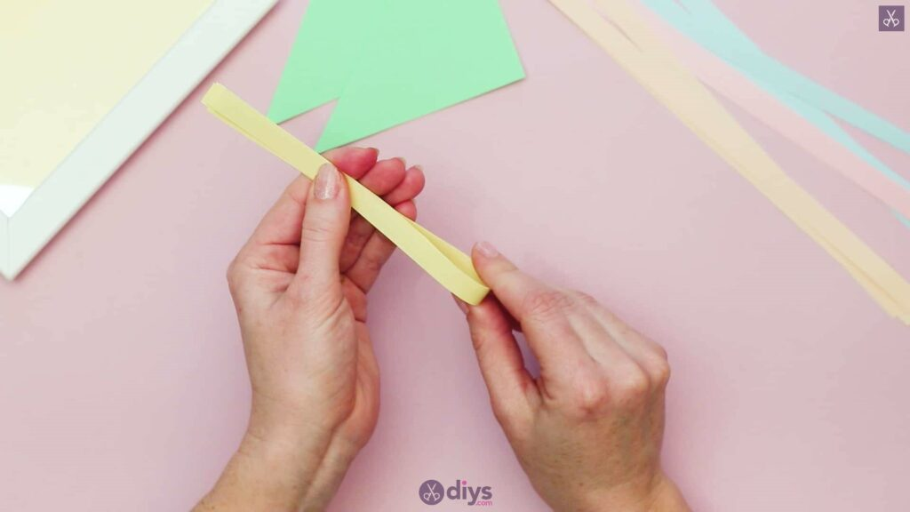 Diy origami flower art step 2b