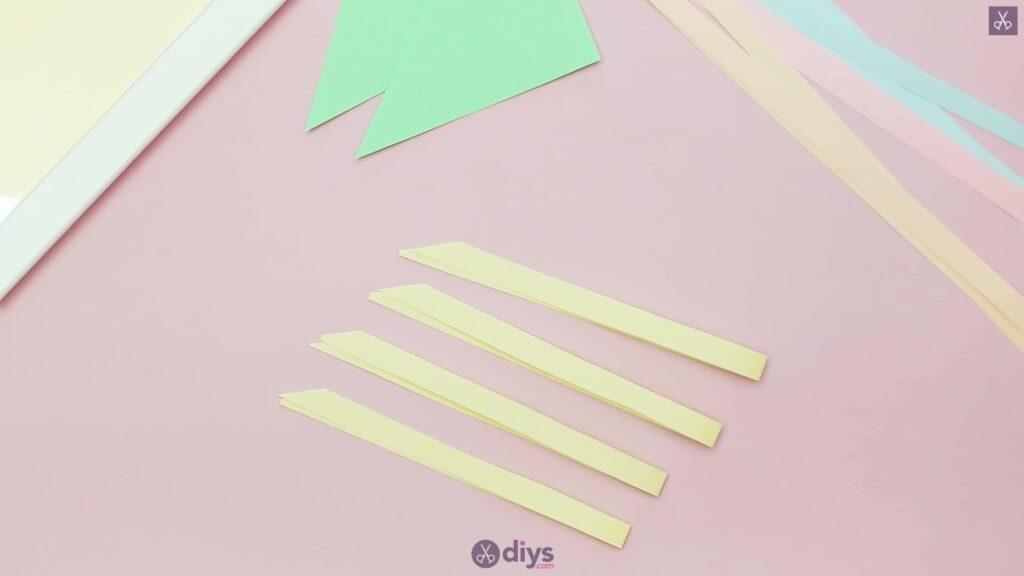 Diy origami flower art step 3