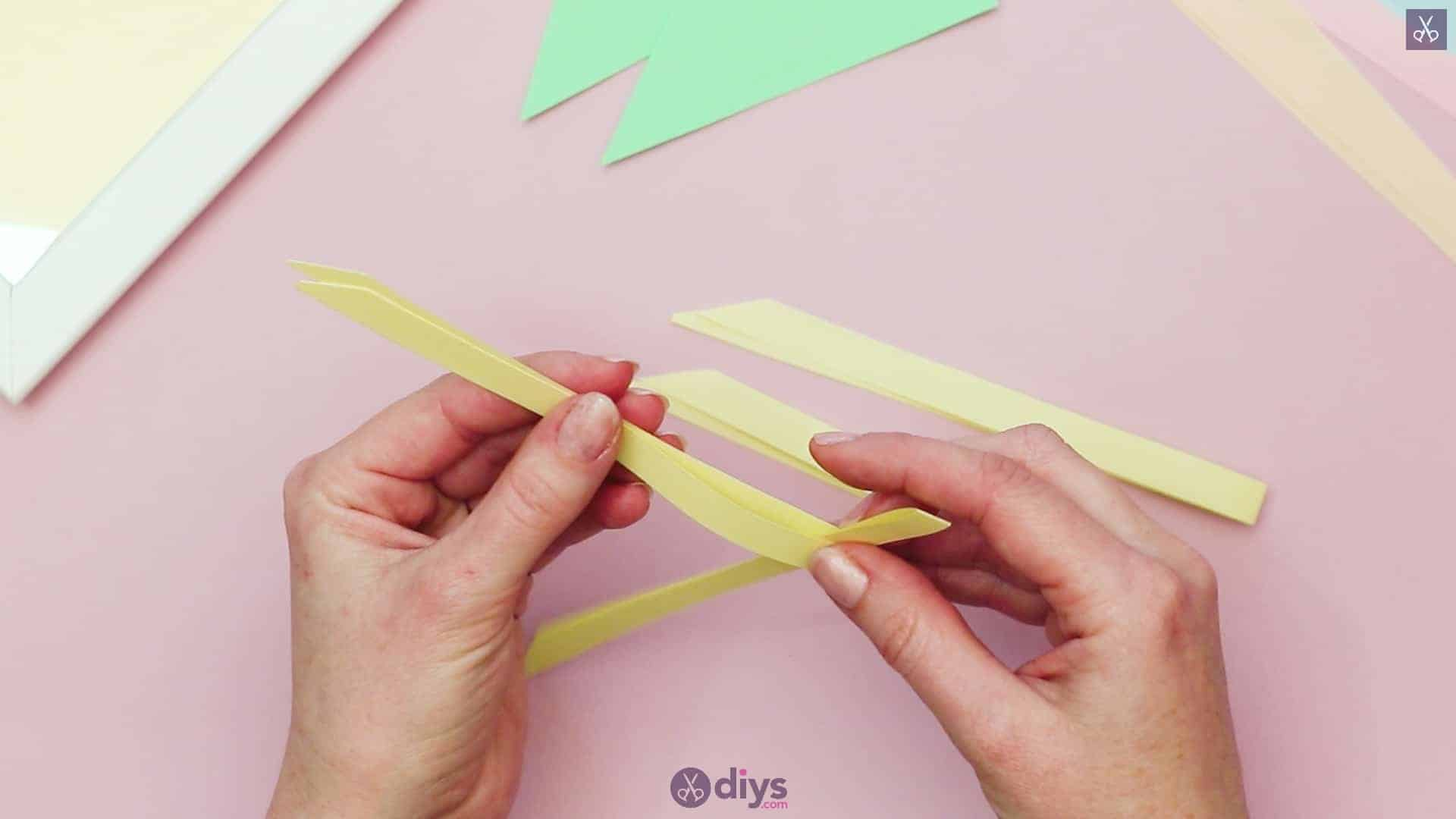 Diy origami flower art step 3a