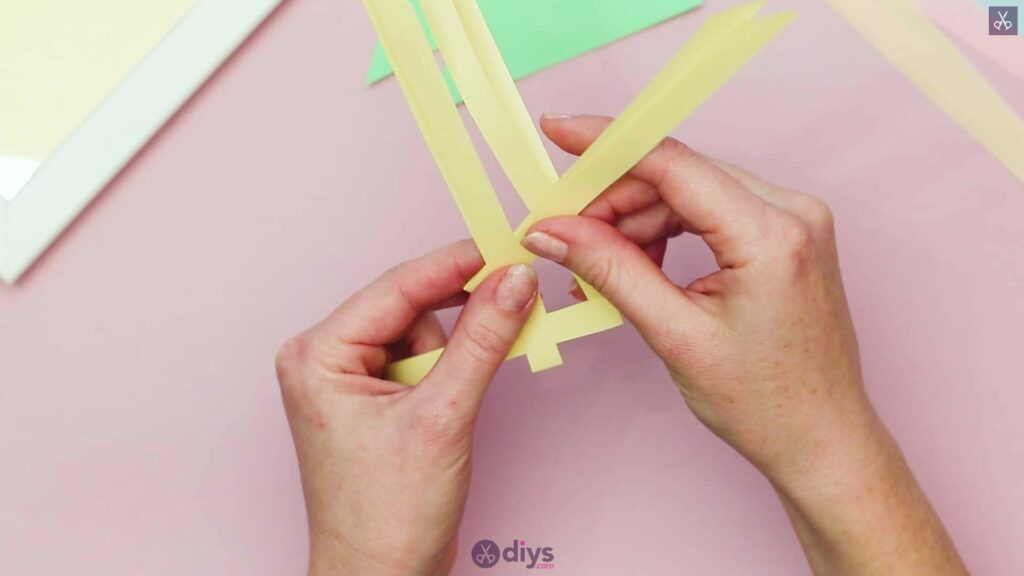 Diy origami flower art step 3c
