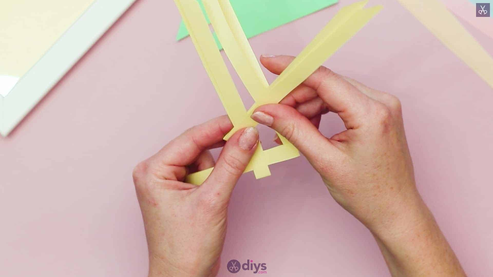 Diy origami flower art step 3c