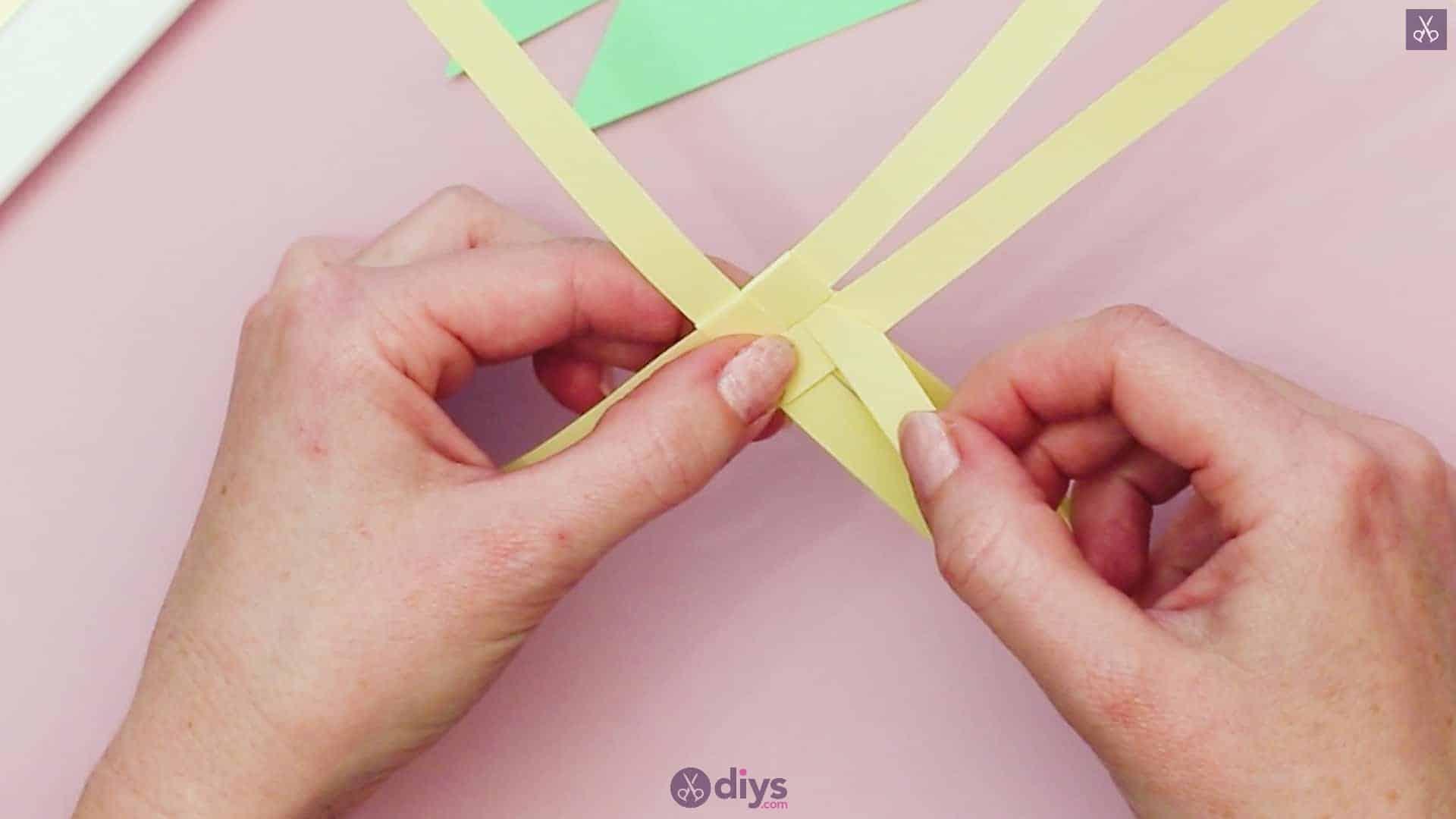 Diy origami flower art step 4a
