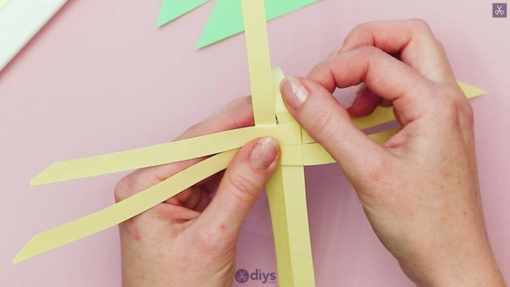Diy origami flower art step 5a