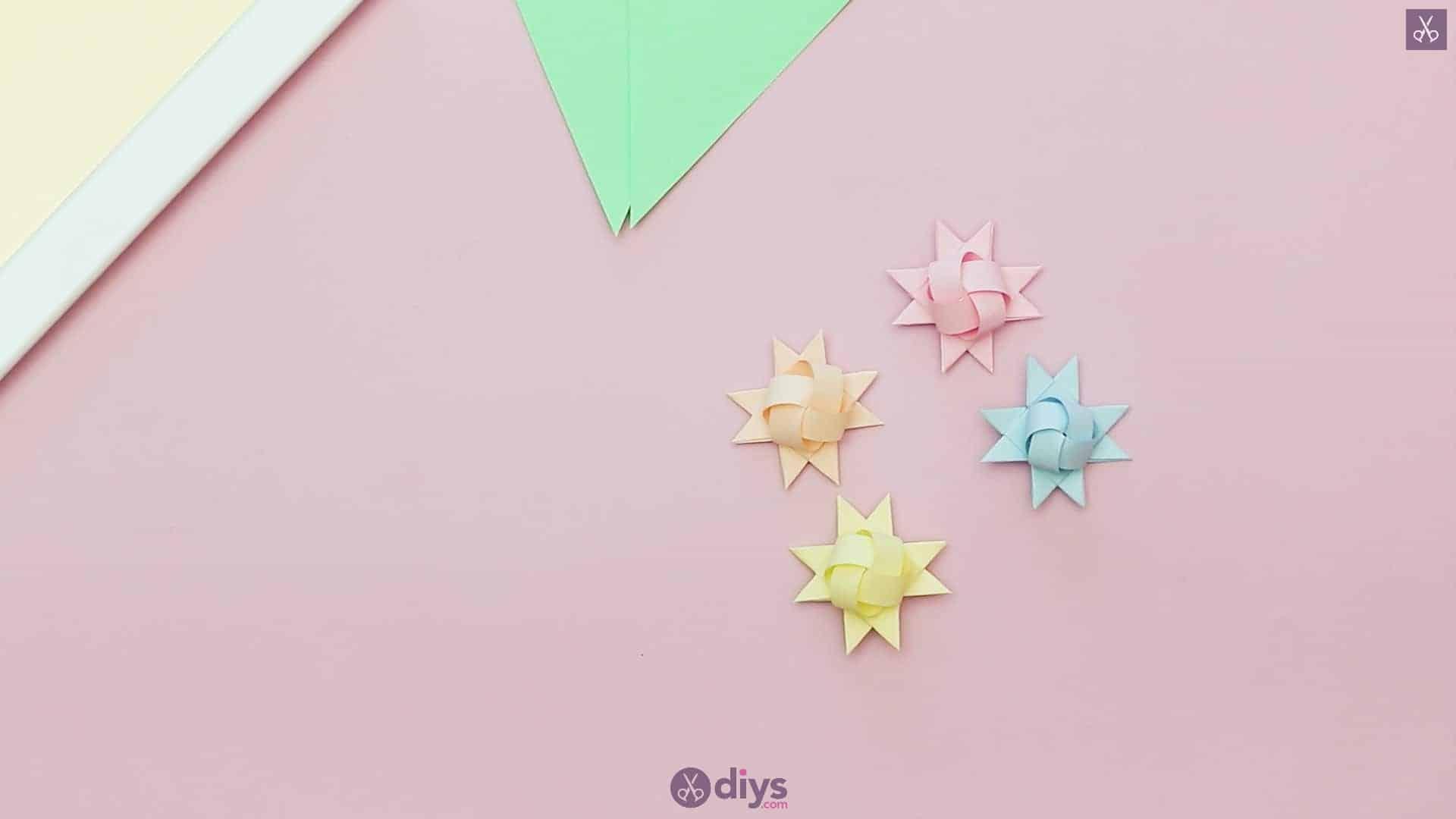 Diy origami flower art step 8c