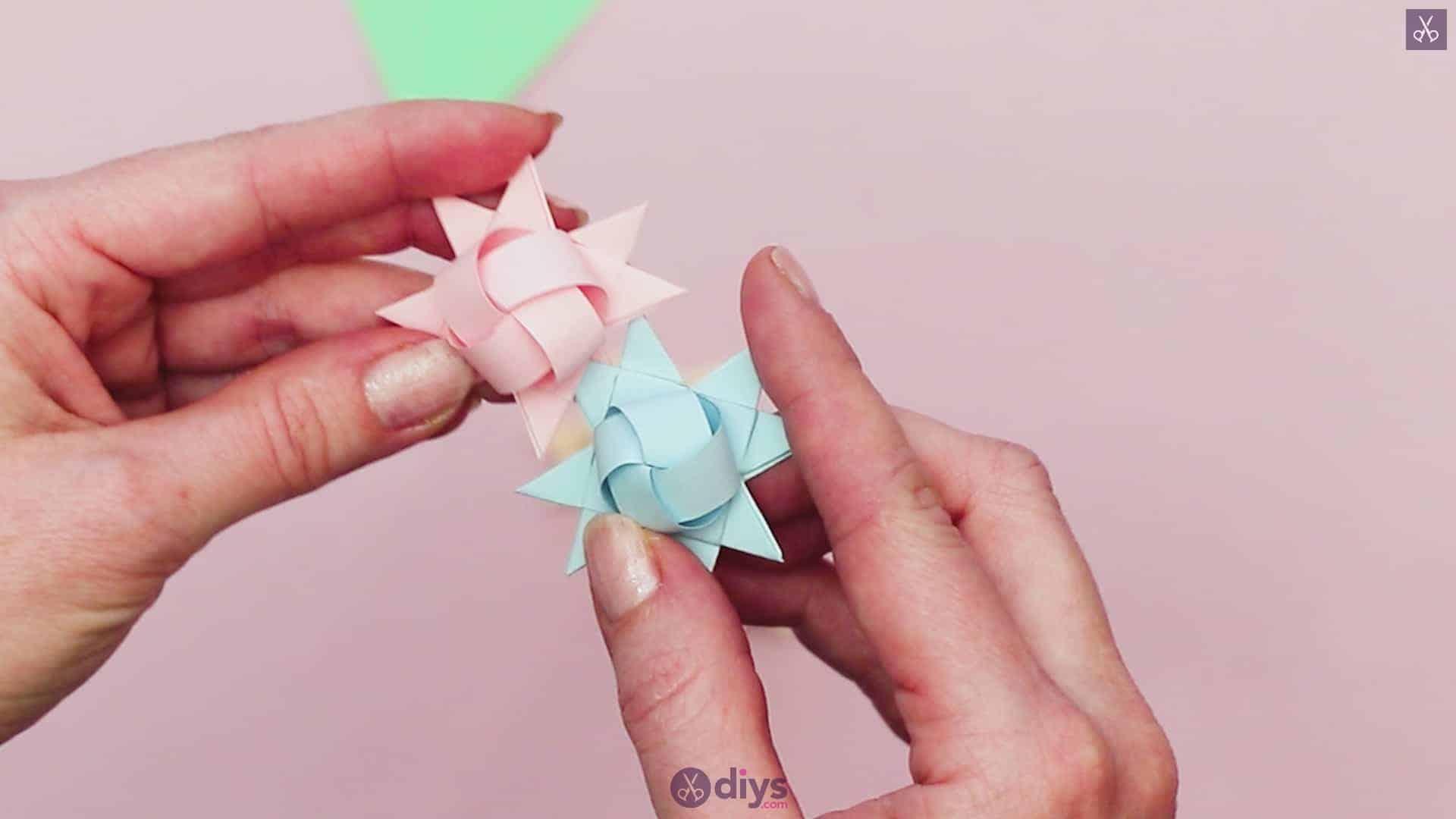 Diy origami flower art step 9a