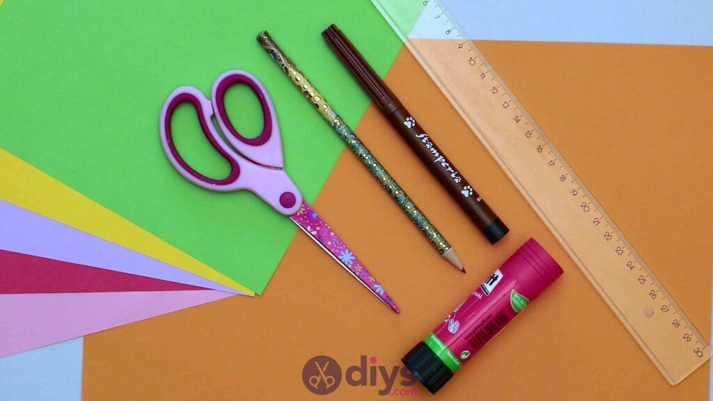 Diy paper spring tree materials