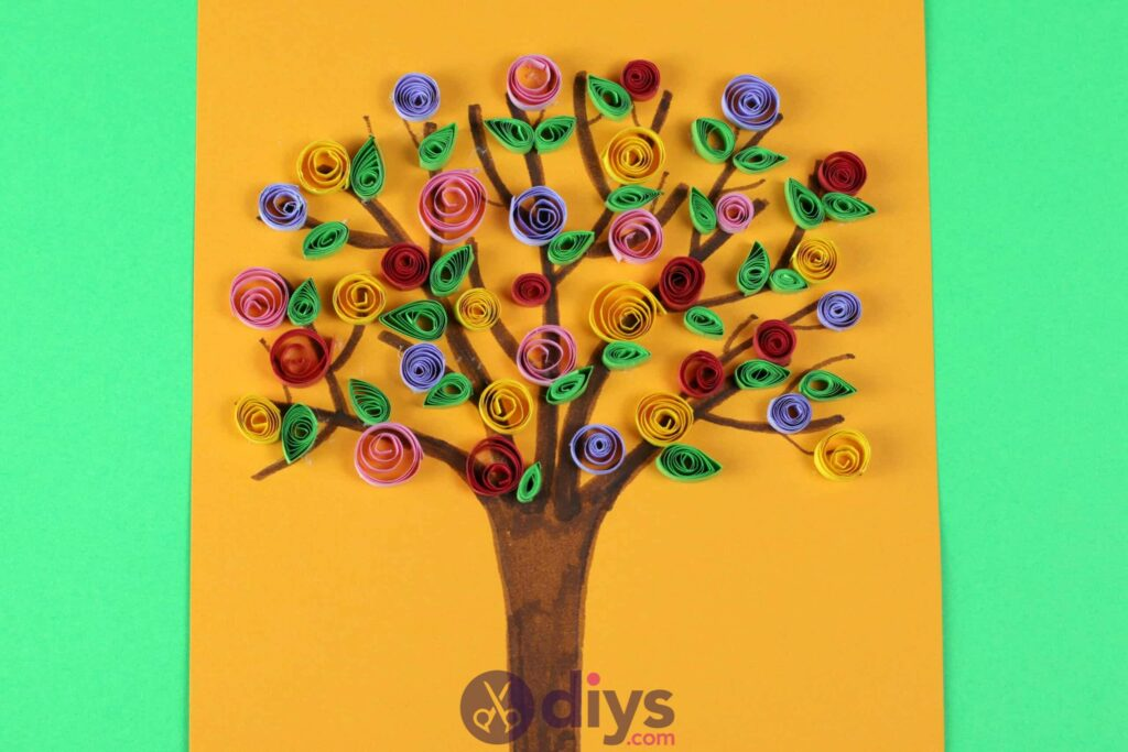How to Create a Simple Paper Craft Tree |