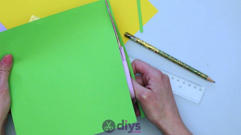 Diy paper spring tree step 2c