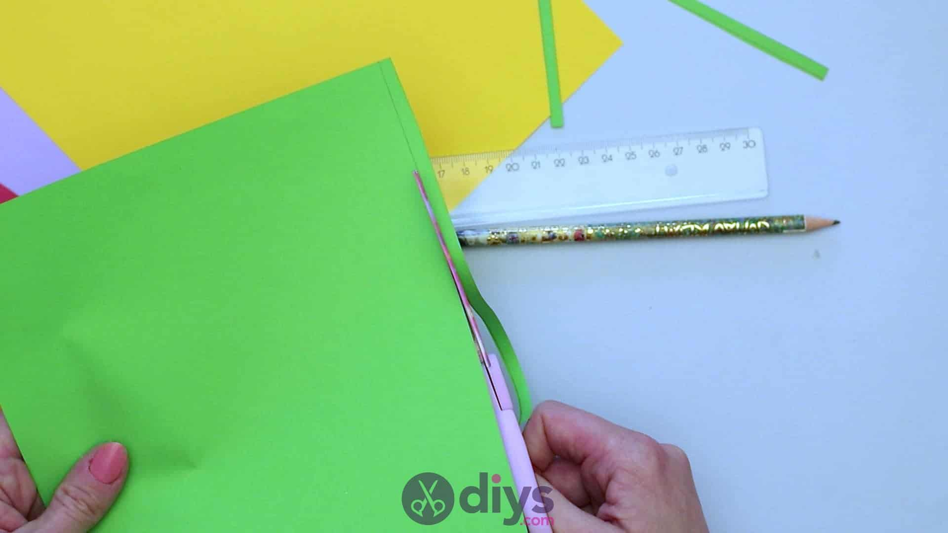 Diy paper spring tree step 2d