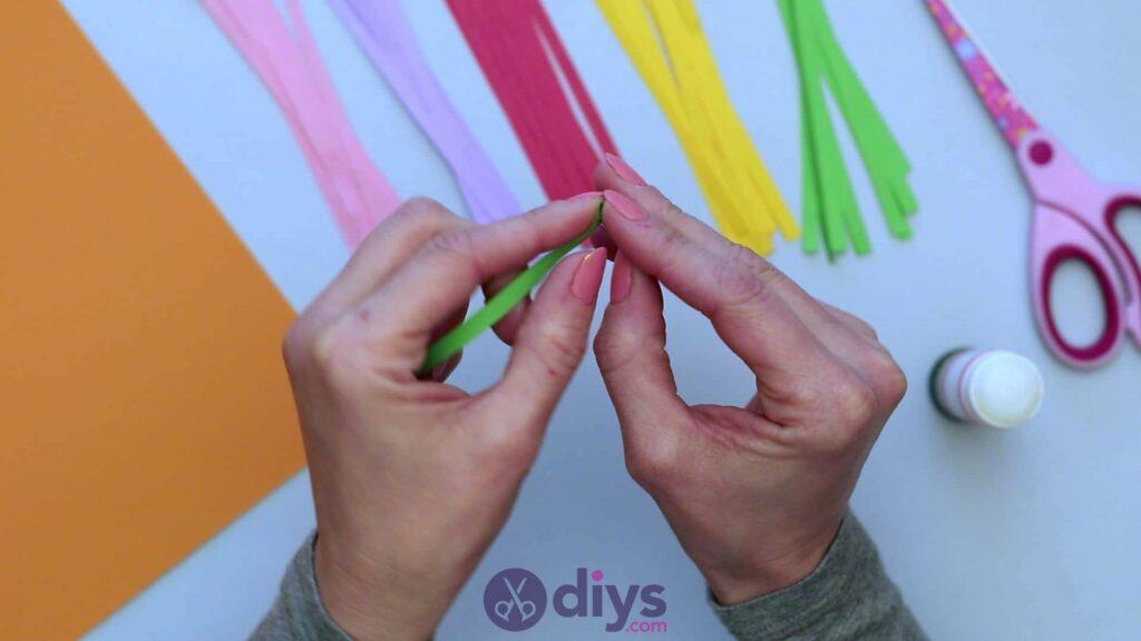 Diy paper spring tree step 3