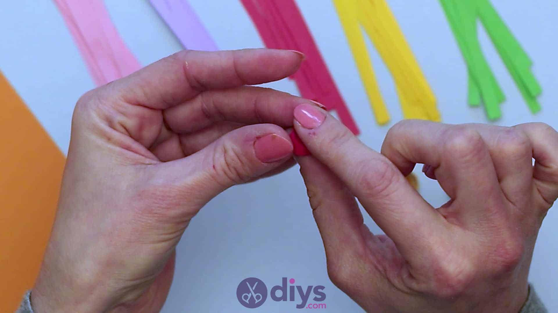 Diy paper spring tree step 4r