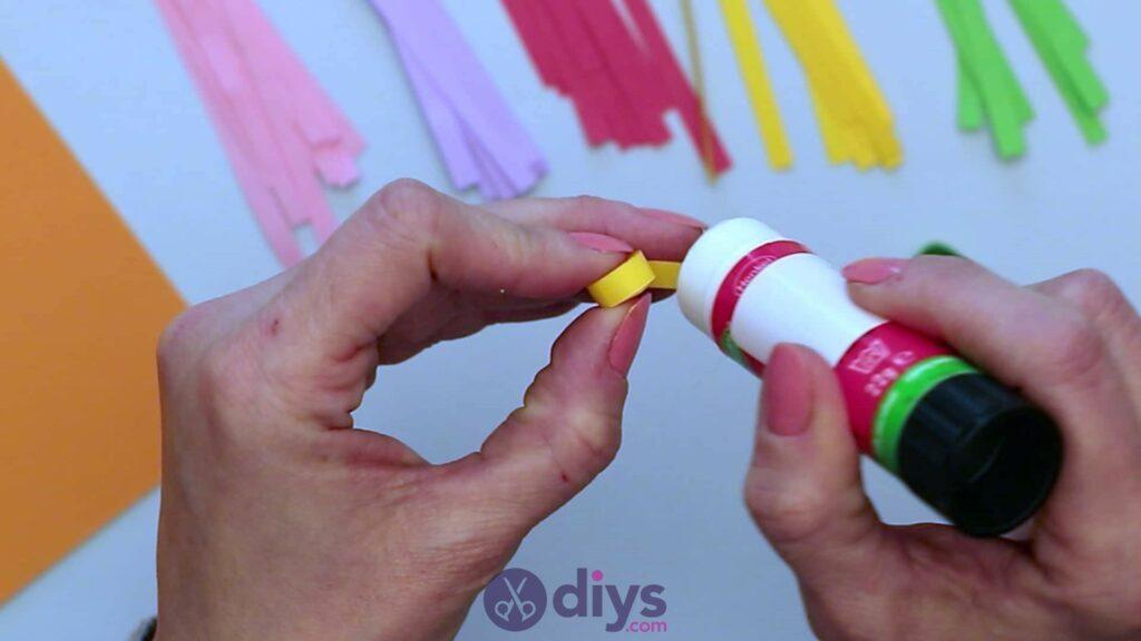 Diy paper spring tree step 4s