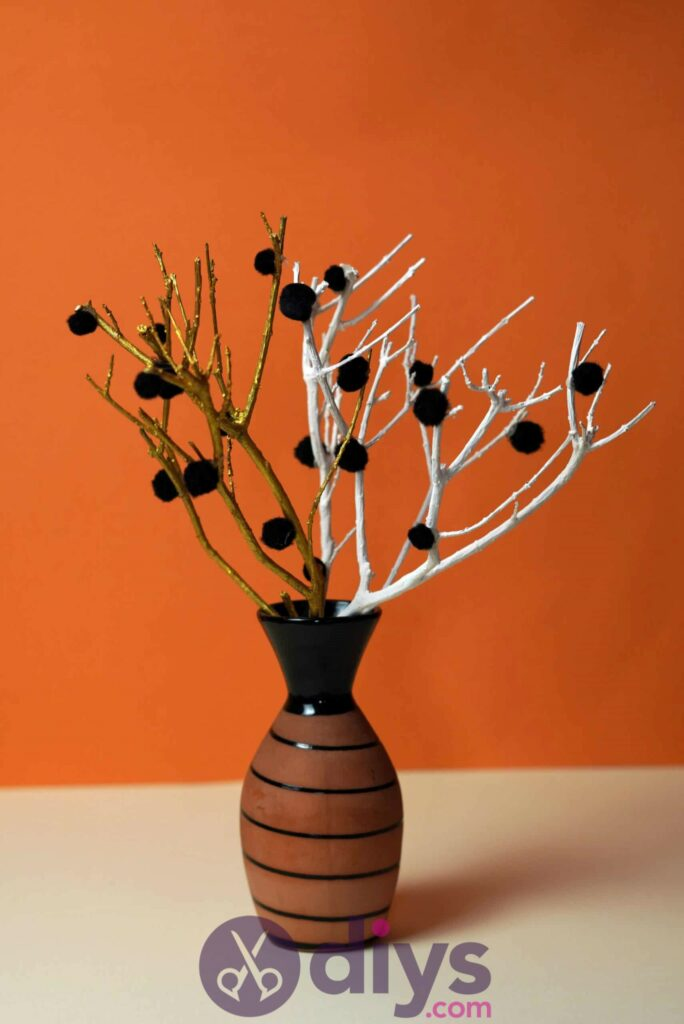 Diy pom pom tree art cool design