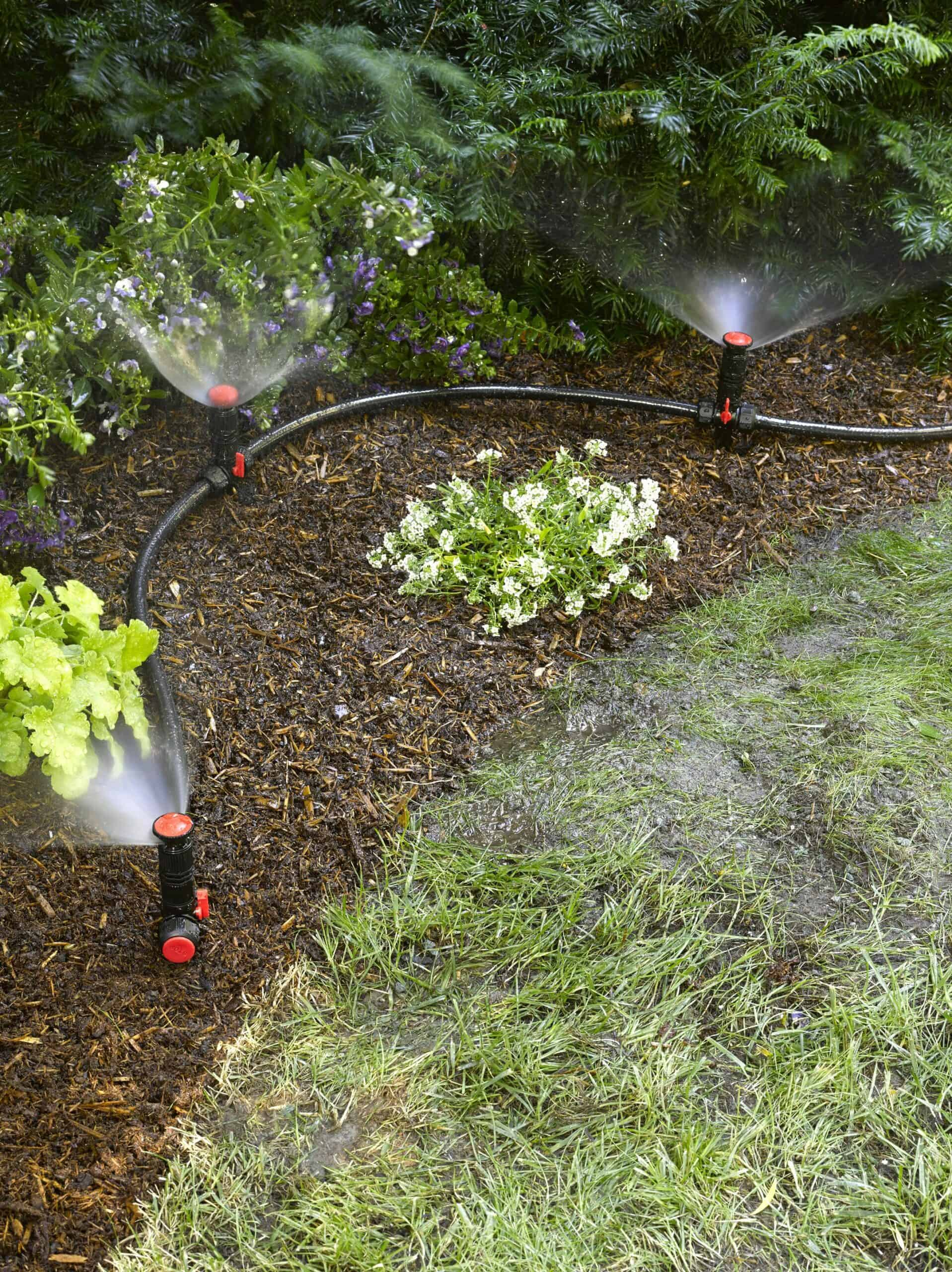 Diy above ground irrigation systems for landscaping