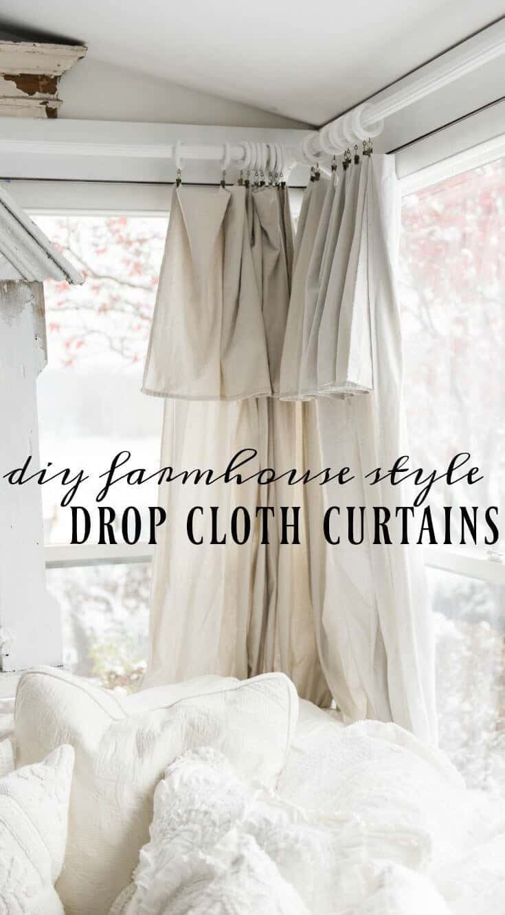Diy Farmhouse Window Treatments