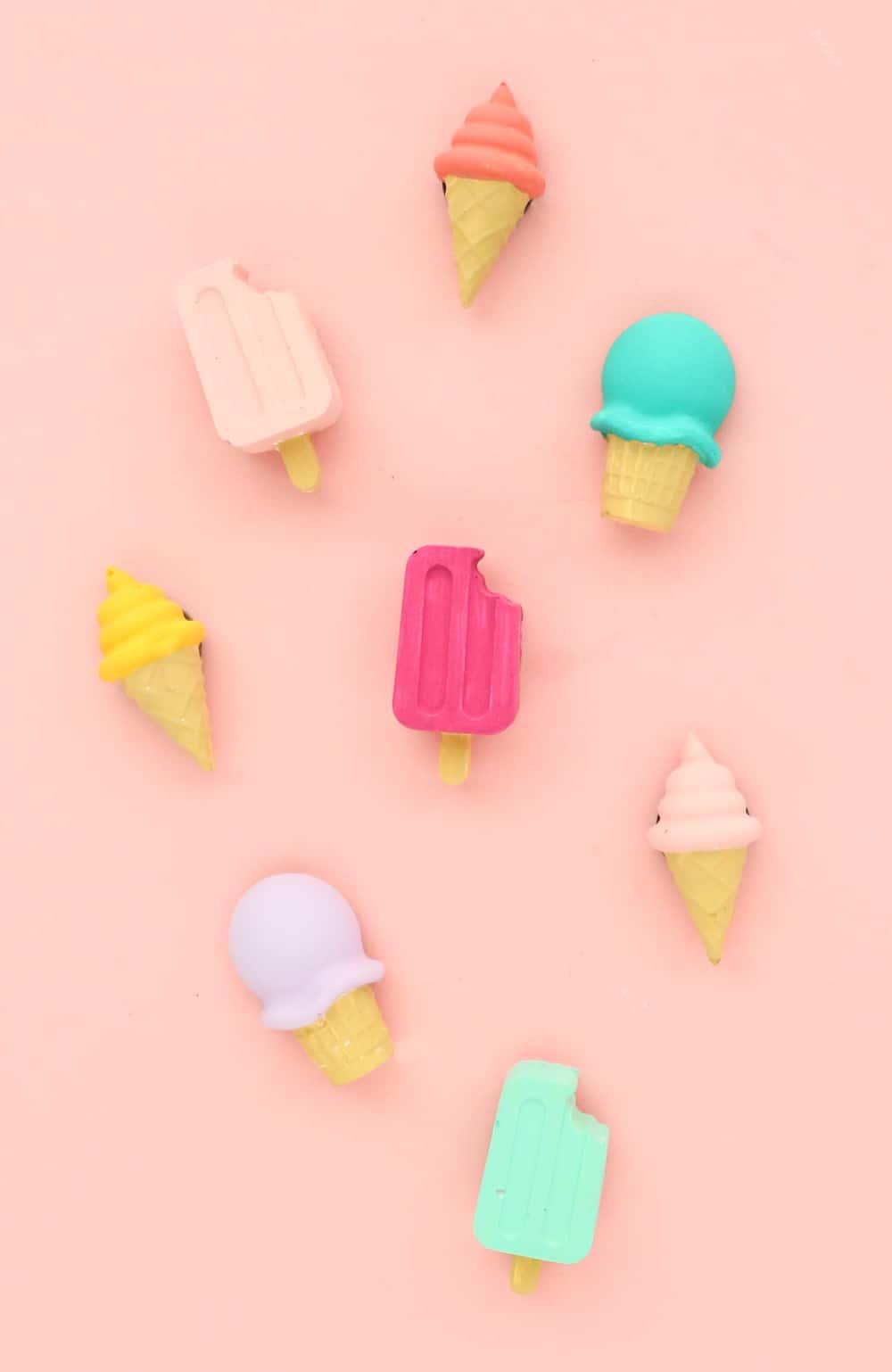 Diy ice cream magnets
