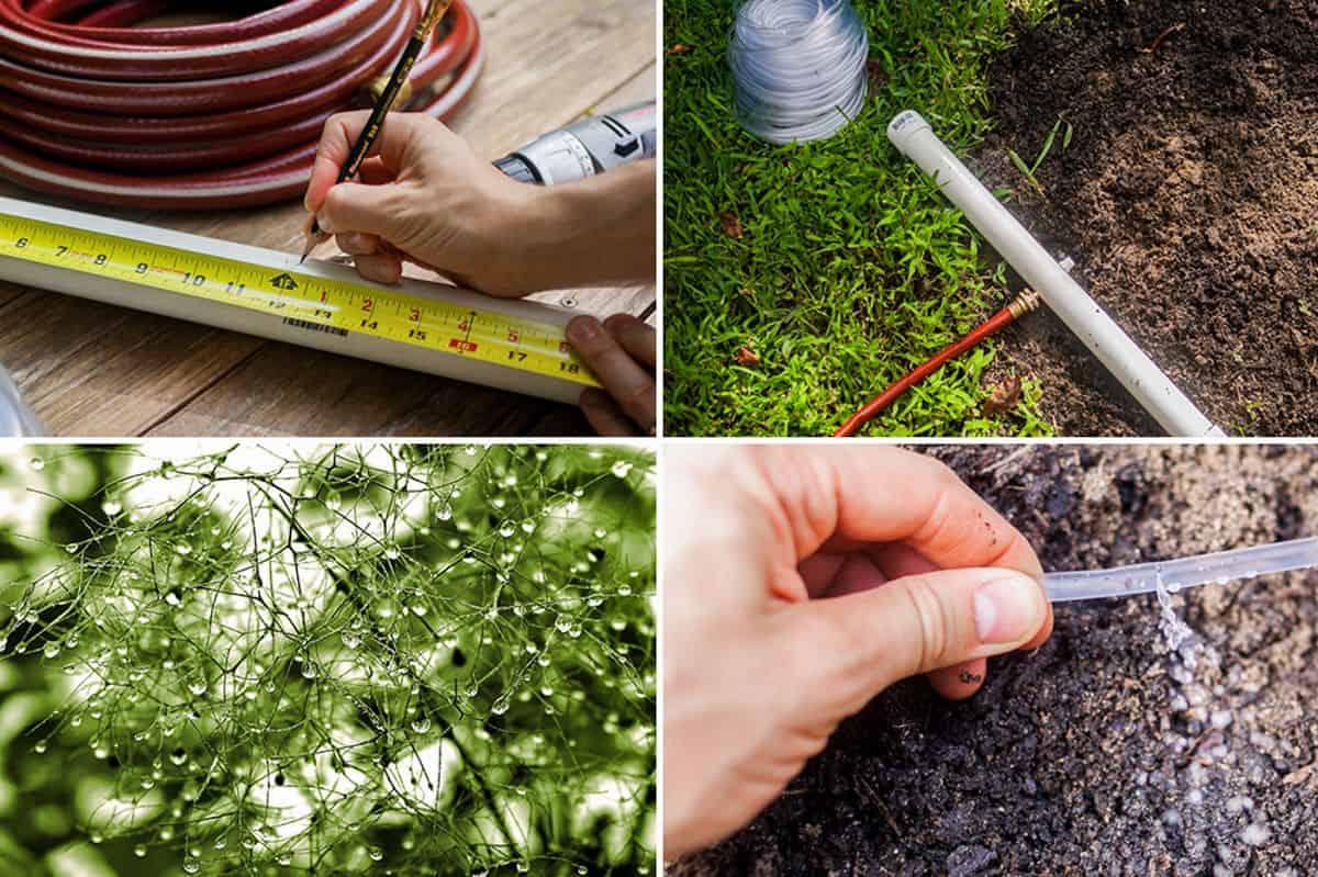 Diy inexpensive garden irrigation system