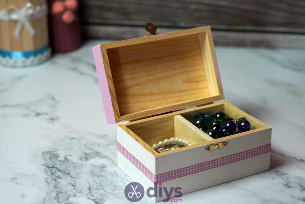 Diy Decoupage Wooden Jewelry Box