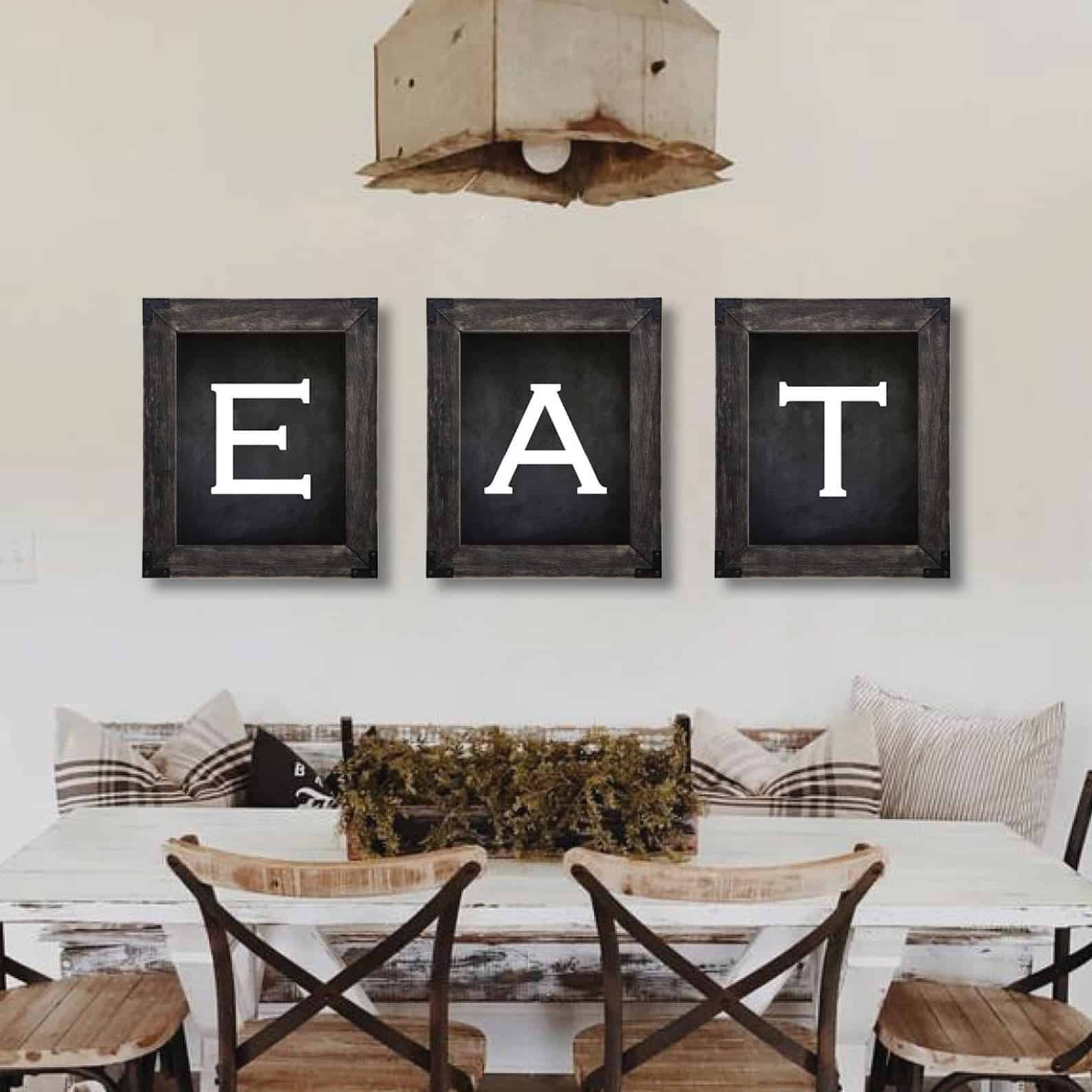 Eat dining room wall art