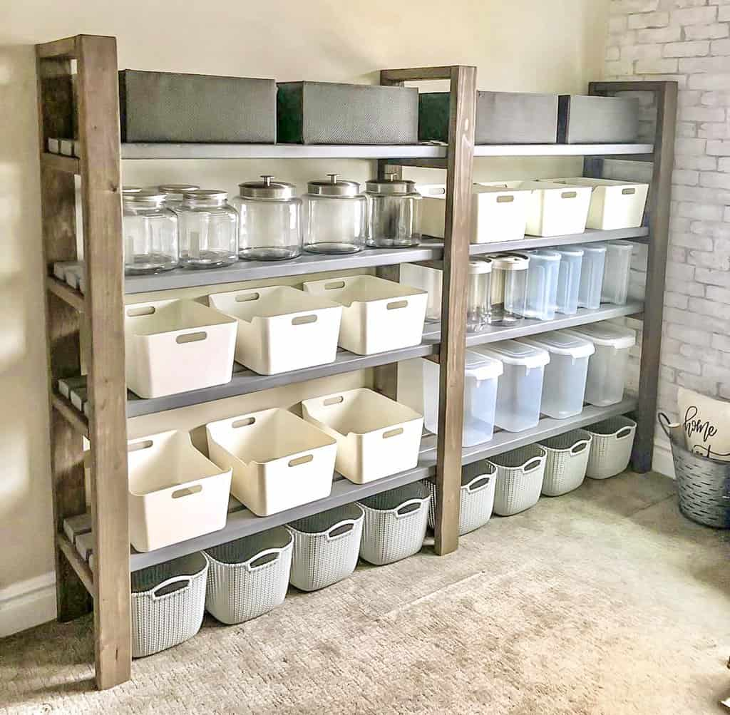 How To Build Pantry Shelves For More Storage 15 Inspirational Ideas