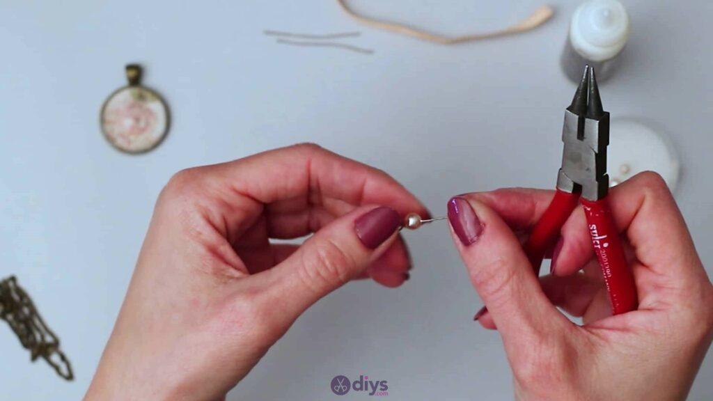 Glass lens necklace step 4d