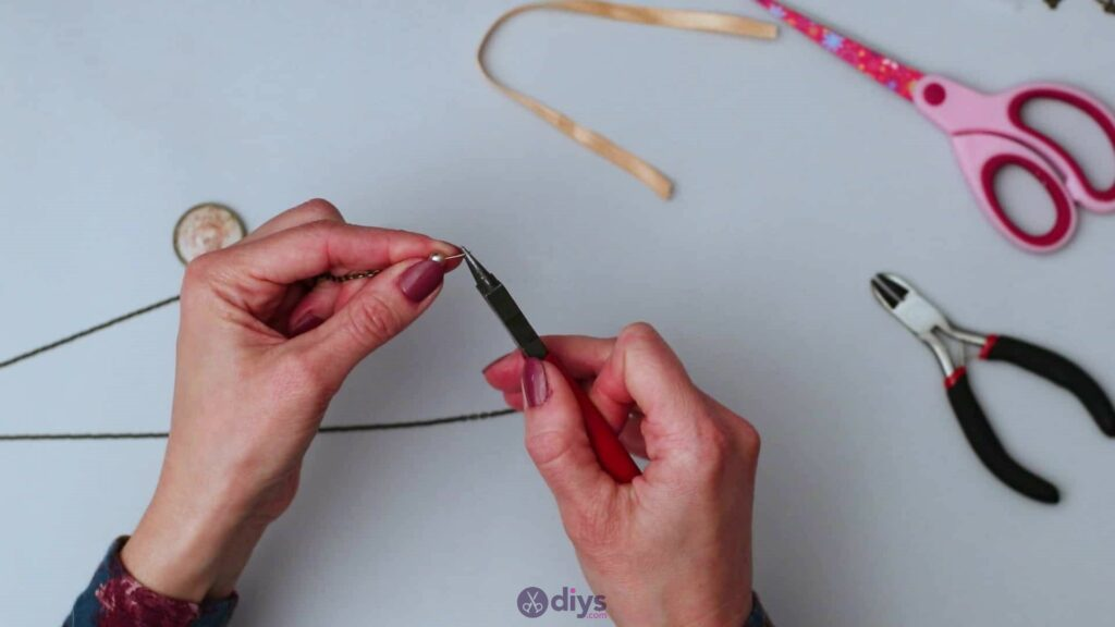 Glass lens necklace step 5i
