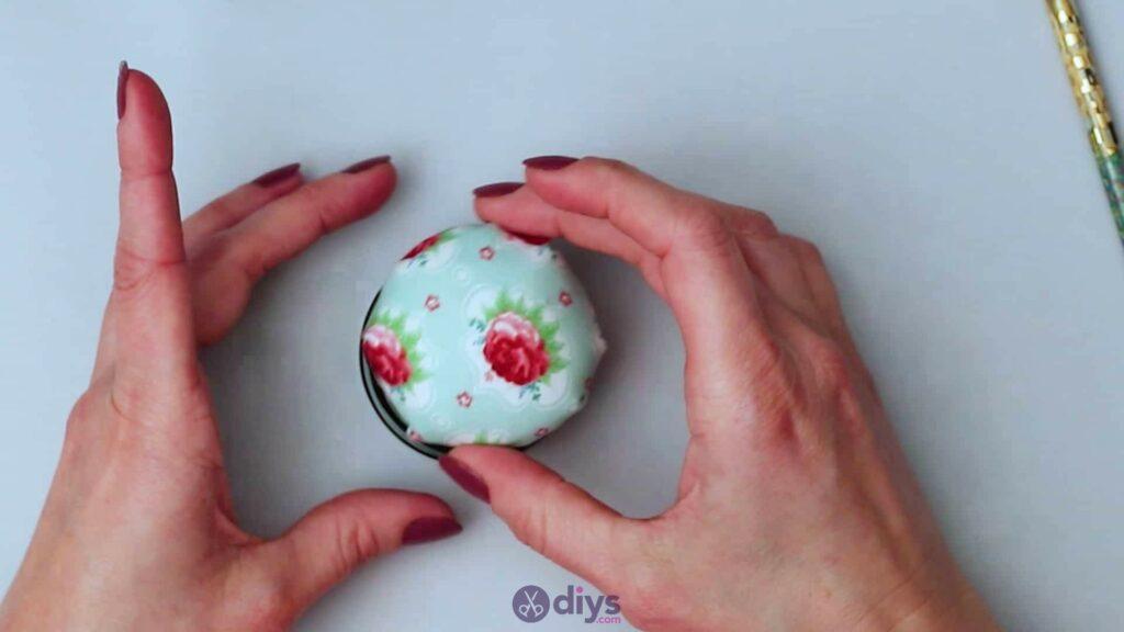 Mason jar pin cushion step 5b