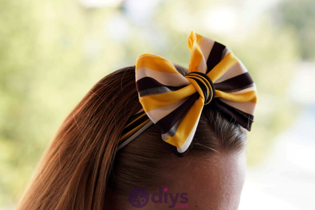 No sew head wrap cute