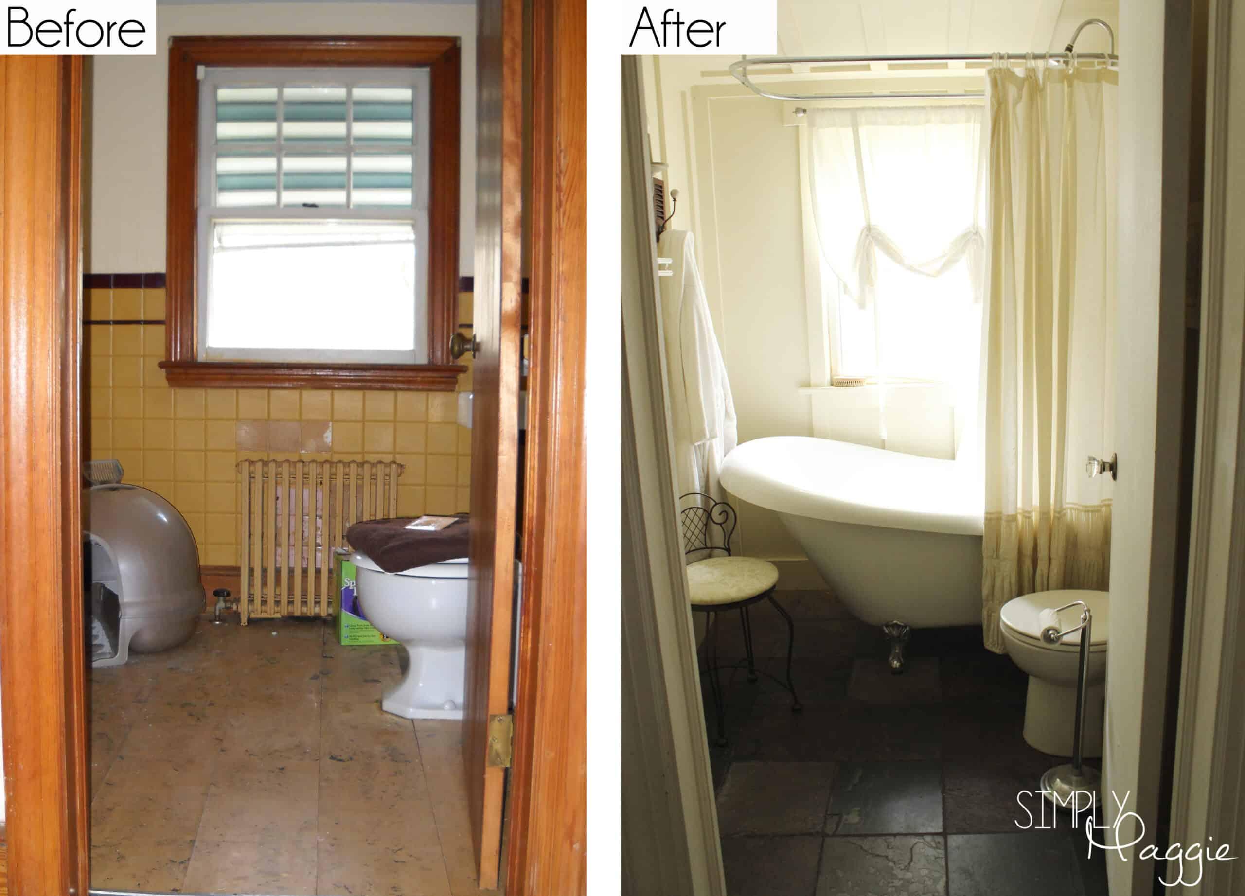 Remodelling a cottage bathroom