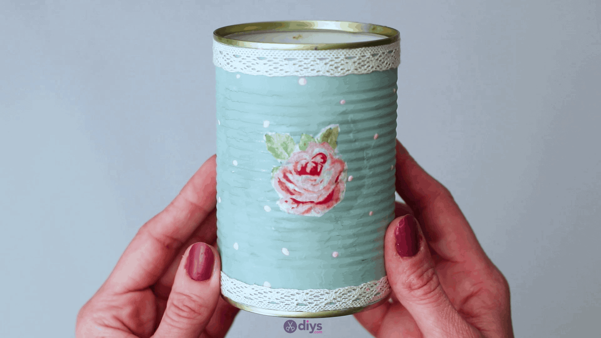 How to make a simple tin box storage and organizer