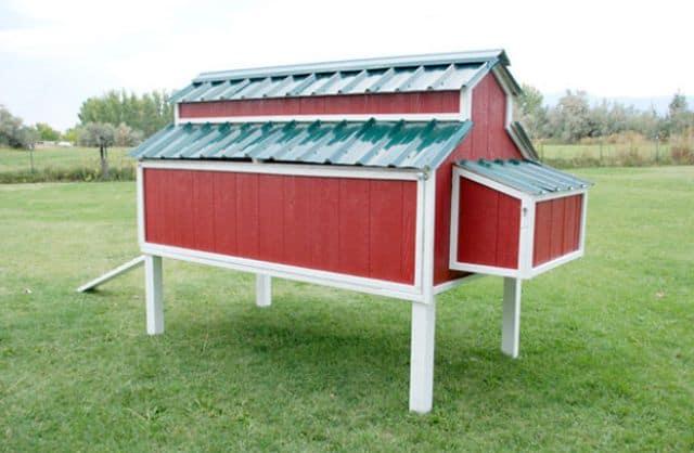 Classic chicken coop